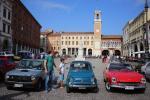 Il rombo dei bolidi d'epoca: in piazza la storia del motore