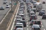 Lavori in A13, traffico in tilt: si è formata una coda di 10 chilometri