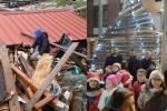 Dal legno delle cavane distrutte nasce l'albero di Natale dei pescatori!