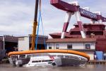 Solo 5 secondi per auto-raddrizzarsi: le nuove super barche per la guardia costiera sono mada in Polesine