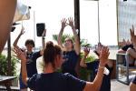 """Il ballo dei ragazzi """"speciali"""" di Mosaico Friends accende il bagno Tamerici di Rosolina"""