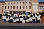 La grande festa in piazza per i nostri dottori