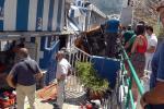 Bimbo polesano ferito nell'uscita del minibus a Capri