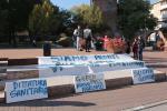 """""""Green Pass uguale nuovo nazismo"""", poche decine protestano"""