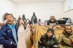 I profughi cominciano a lavorare
