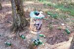 Il cimitero... delle bottiglie vuote