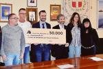 Alì dona 50mila euro alla Sacca