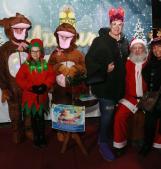 A Borsea si festeggia con Babbo Natale e i personaggi Disney