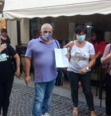 """Caso Passetto, nuova protesta dei residenti: """"Sistemate il ponte vecchio"""""""