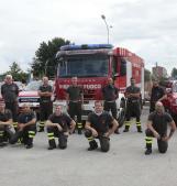 Il grande cuore dei pompieri: dal Polesine il soccorso a L'Aquila