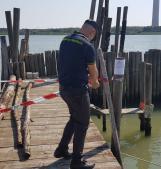 Maxi operazione nel Delta contro l'abusivismo: sequestrati 4 pontili, 13 imbarcazioni e 2 cavane