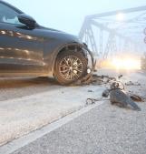 Cala la nebbia, incidente, ponte e traffico il tilt