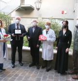 La festa a sorpresa dei dipendenti per Compostella che lascia il Polesine