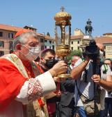 """Sant'Antonio """"fa visita"""" all'Angelo di Mestre e al Covid hospital di Dolo"""