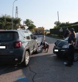 Incidente, un ferito e traffico bloccato