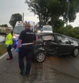 Scontro tra due auto a Roverdicrè, feriti i conducenti
