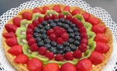 Crostata alla frutta  senza glutine