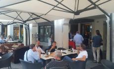 In piazza Vittorio Emanuele ha riaperto lo storico Bar Franchin