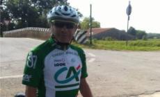 Stroncato dal caldo, ciclista muore a 71 anni