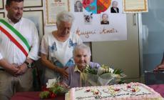 Nonna Amelia compie cent'anni