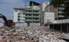 Di Vittorio, demolizione compiuta