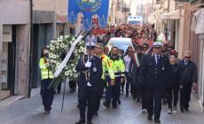 """La marcia del dolore: """"Addio Angelo"""""""