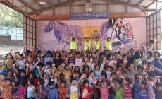 Free Bikers nelle missioni in Myanmar