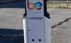 Quattro nuove colonnine per la ricarica  delle auto elettriche