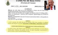 """""""Arrestate veneti e lombardi"""": ordinanza delirante del sindaco calabrese"""