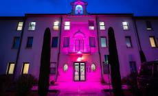 Festa della donna, le case di cura si illuminano di rosa