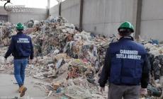 Rifiuti abbandonati nei capannoni, intervengono i Carabinieri con un maxiblitz
