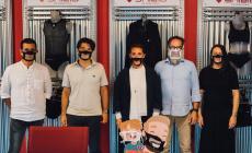 La ditta Under Shield ha realizzato le mascherine trasparenti per i non udenti