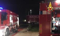 Pompieri tutta la notte al lavoro per una incredibile perdita di gas