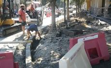 Marciapiedi e strade nuove: continuano i lavori in città