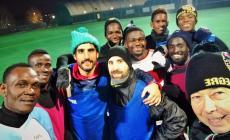 La squadra di calcio degli ospiti di Porto Alegre compie tre anni