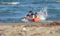 Salvata dal bagnino, stava per annegare