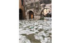 Pioggia e grandine colpiscono il Veneto