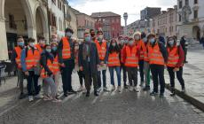 Gli studenti dello scientifico protagonisti al Giro d'Italia