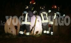 Enormi cisterne di gas a rischio esplosione, intervengono i vigili del fuoco