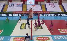 Delta Volley Porto Viro, il cuore non basta