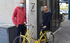 Al coworking di Zico arrivano le bici della Fiab Rovigo