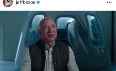 Jeff Bezos nello spazio prima di Elon Musk