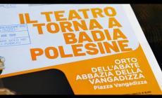 """Il Polesine riparte dalla cultura con """"Il teatro torna a casa"""""""