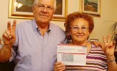 Bellino e Luisa nonni fortunati