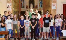 La forza di Pierluigi e Michela incanta la parrocchia