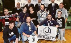 Il club Delta del Po a far festa coi campioni della Juventus