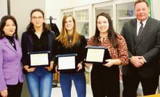 Biotecnologie, 3 studentesse d'oro