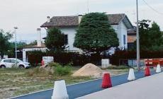 Proseguono i lavori per la realizzazione della pista pedo-ciclabile lungo via 4 Novembre