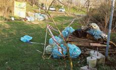 30 sacchi di plastica, 4 di vetro, condizionatori e pezzi d'auto: come abbiamo ridotto il nostro argine