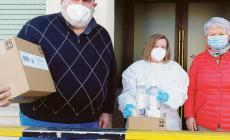 L'Ail dona gel e saponette alla casa di riposo